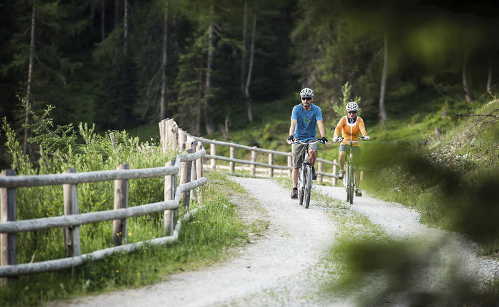 Mountain biking in the Stubai valley - Your active holiday in the Stubai