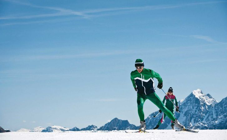 Cross-country skiing in unique mountain scenery – Your holiday in Stubai